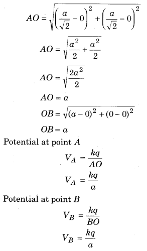 RBSE Solutions for Class 12 Physics Chapter 3 Electric Potential 77