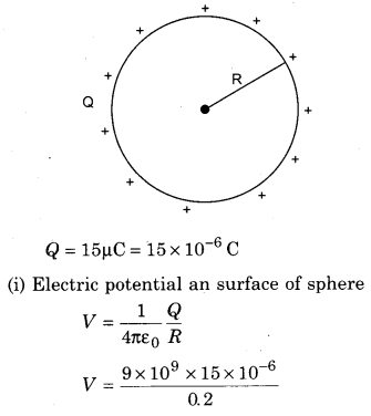 RBSE Solutions for Class 12 Physics Chapter 3 Electric Potential 84