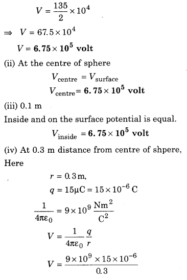 RBSE Solutions for Class 12 Physics Chapter 3 Electric Potential 85