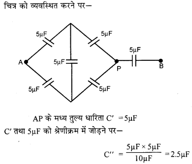 RBSE Solutions for Class 12 Physics Chapter 4 विद्युत धारिता 5