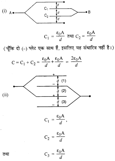 RBSE Solutions for Class 12 Physics Chapter 4 विद्युत धारिता 69