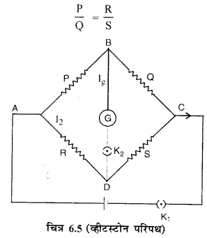 RBSE Solutions for Class 12 Physics Chapter 6 विद्युत परिपथ 13