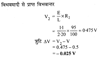 RBSE Solutions for Class 12 Physics Chapter 6 विद्युत परिपथ 9