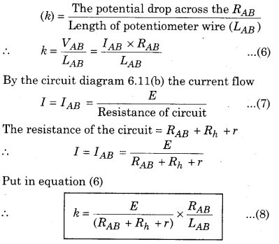 RBSE Solutions for Class 12 Physics Chapter 6 Electric Circuit 22
