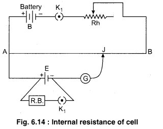 RBSE Solutions for Class 12 Physics Chapter 6 Electric Circuit 34