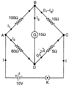 RBSE Solutions for Class 12 Physics Chapter 6 Electric Circuit 46