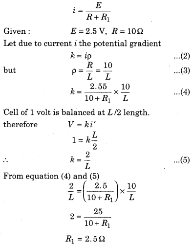RBSE Solutions for Class 12 Physics Chapter 6 Electric Circuit 51