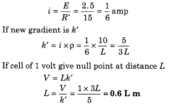 RBSE Solutions for Class 12 Physics Chapter 6 Electric Circuit 52