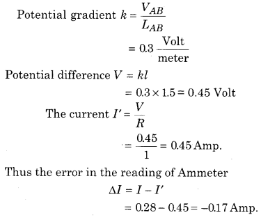 RBSE Solutions for Class 12 Physics Chapter 6 Electric Circuit 9