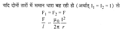 RBSE Solutions for Class 12 Physics Chapter 7 विद्युत धारा के चुम्बकीय प्रभाव 21