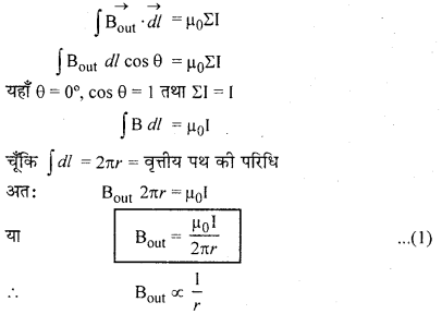 RBSE Solutions for Class 12 Physics Chapter 7 विद्युत धारा के चुम्बकीय प्रभाव 23