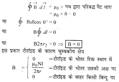 RBSE Solutions for Class 12 Physics Chapter 7 विद्युत धारा के चुम्बकीय प्रभाव 65