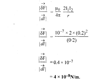 RBSE Solutions for Class 12 Physics Chapter 7 विद्युत धारा के चुम्बकीय प्रभाव 81