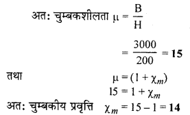 RBSE Solutions for Class 12 Physics Chapter 8 चुम्बकत्व एवं चुम्बकीय पदार्थों के गुण 36