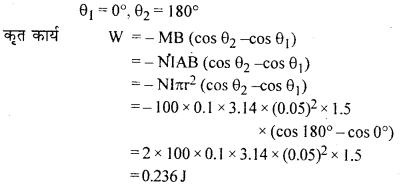 RBSE Solutions for Class 12 Physics Chapter 8 चुम्बकत्व एवं चुम्बकीय पदार्थों के गुण 44