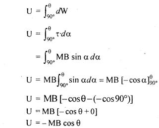 RBSE Solutions for Class 12 Physics Chapter 8 चुम्बकत्व एवं चुम्बकीय पदार्थों के गुण 6