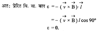 RBSE Solutions for Class 12 Physics Chapter 9 विद्युत चुम्बकीय प्रेरण Numeric Q 13.1