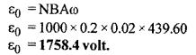 RBSE Solutions for Class 12 Physics Chapter 9 विद्युत चुम्बकीय प्रेरण Numeric Q 5
