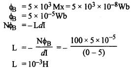 RBSE Solutions for Class 12 Physics Chapter 9 विद्युत चुम्बकीय प्रेरण Te Bo Q 14