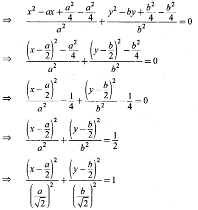 RBSE Solutions for Class 11 Maths Chapter 12 शांकव परिच्छेद Miscellaneous Exercise
