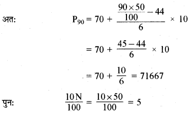 RBSE Solutions for Class 11 Maths Chapter 13 प्रकीर्णन के माप Ex 13.1