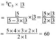 RBSE Solutions for Class 11 Maths Chapter 6 क्रमचय तथा संचय Miscellaneous Exercise