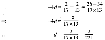 RBSE Solutions for Class 11 Maths Chapter 8 अनुक्रम,श्रेढ़ी तथा श्रेणी Ex 8.7