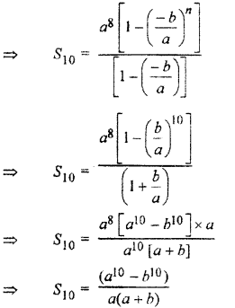 RBSE Solutions for Class 11 Maths Chapter 8 Sequence, Progression, and SeriesEx 8.4