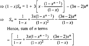 RBSE Solutions for Class 11 Maths Chapter 8 Sequence, Progression, and SeriesEx 8.5