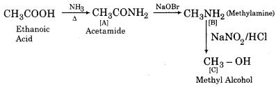 RBSE Solutions for Class 12 Chemistry Chapter 13 Organic Compounds with Functional Group-Containing Nitrogen image 19