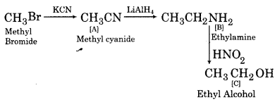 RBSE Solutions for Class 12 Chemistry Chapter 13 Organic Compounds with Functional Group-Containing Nitrogen image 20