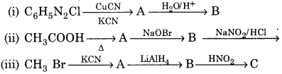 RBSE Solutions for Class 12 Chemistry Chapter 13 Organic Compounds with Functional Group-Containing Nitrogen image 21