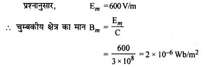 RBSE Solutions for Class 12 Physics Chapter 17 विद्युत चुम्बकीय तरंगें, संचार एवं समकालीन भौतिकी nu Q 1