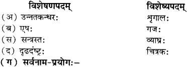 RBSE Solutions for Class 12 Sanskrit विजेत्र Chapter 11 नीत्या स्वकार्यं साधनीयम् 10