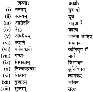 RBSE Solutions for Class 12 Sanskrit विजेत्र Chapter 13 सङ्घ शक्तिः 7