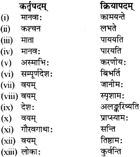 RBSE Solutions for Class 12 Sanskrit विजेत्र Chapter 13 सङ्घ शक्तिः 8