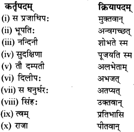 RBSE Solutions for Class 12 Sanskrit विजेत्र Chapter 7 नन्दिनीकथा 10