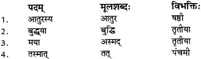 RBSE Solutions for Class 12 Sanskrit विजेत्र Chapter 8 यक्ष-युधिष्ठिरयो संवादः 4