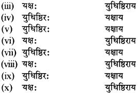 RBSE Solutions for Class 12 Sanskrit विजेत्र Chapter 8 यक्ष-युधिष्ठिरयो संवादः 9