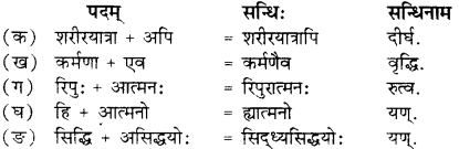 RBSE Solutions for Class 12 Sanskrit Chapter 4 गीतामृतम् 1
