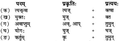 RBSE Solutions for Class 12 Sanskrit Chapter 4 गीतामृतम् 7