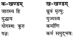 RBSE Solutions for Class 9 Sanskrit सरसा Chapter 6 गीतामृतम् 2