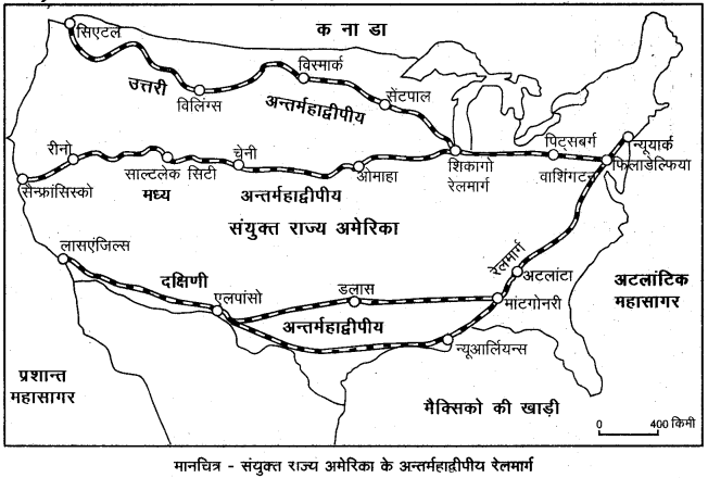RBSE Solutions for Class 12 Geography Chapter 10 विश्व: परिवहन एवं संचार img-10