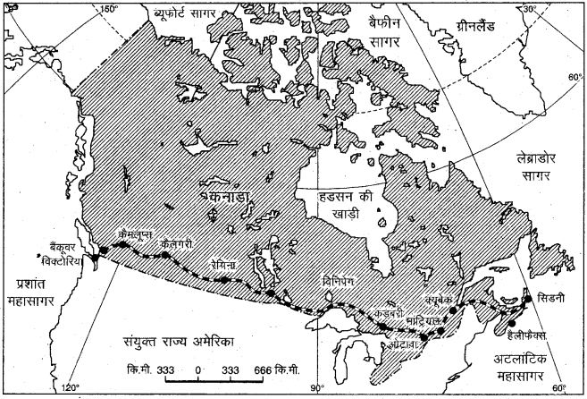 RBSE Solutions for Class 12 Geography Chapter 10 विश्व: परिवहन एवं संचार img-16