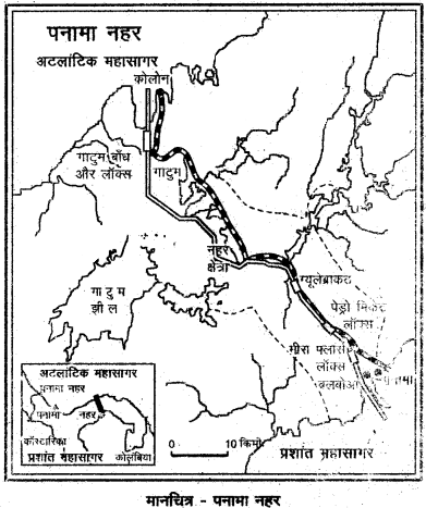 RBSE Solutions for Class 12 Geography Chapter 10 विश्व: परिवहन एवं संचार img-2