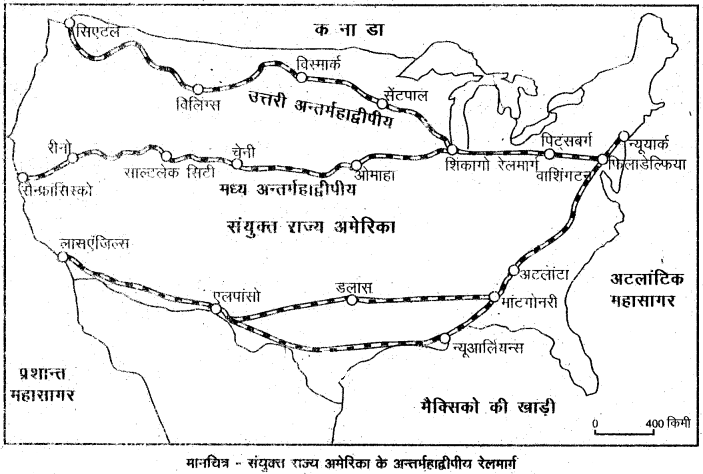 RBSE Solutions for Class 12 Geography Chapter 10 विश्व: परिवहन एवं संचार img-5