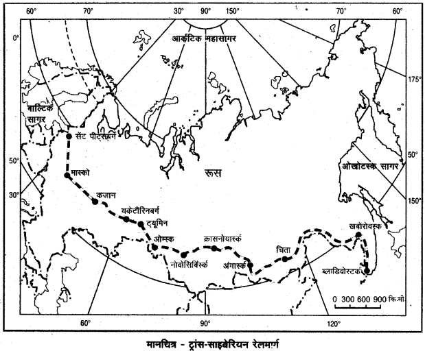 RBSE Solutions for Class 12 Geography Chapter 10 विश्व: परिवहन एवं संचार img-8