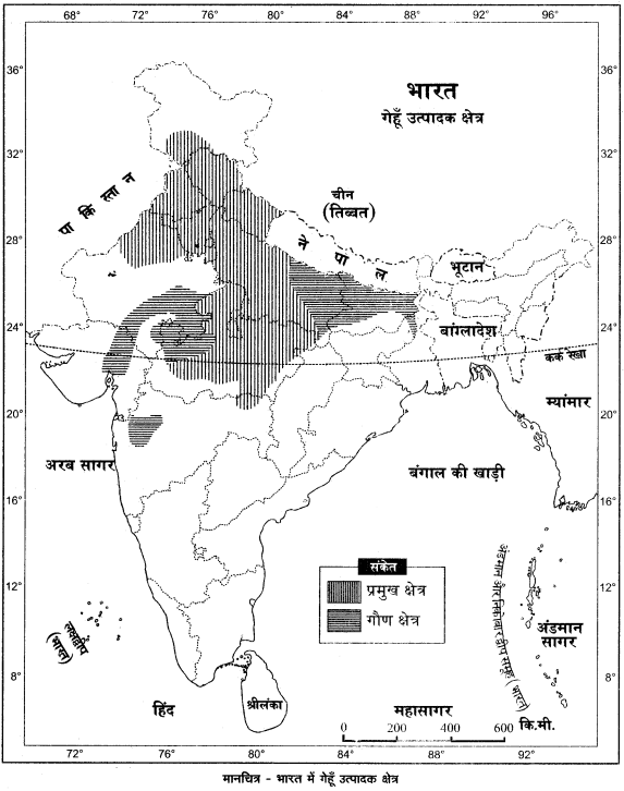 RBSE Solutions for Class 12 Geography Chapter 18 कृषि img-2