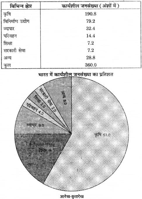 RBSE Solutions for Class 12 Pratical Geography Chapter 3 सांख्यिकीय आंकड़ों का निरूपण img-14