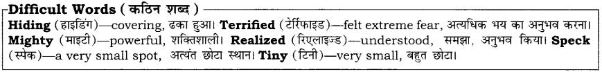 High Maharajah RBSE Class 10 English Notes 24